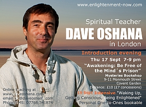spiritual enlightenment transmission london poster