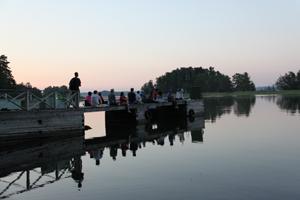 teaching class pier